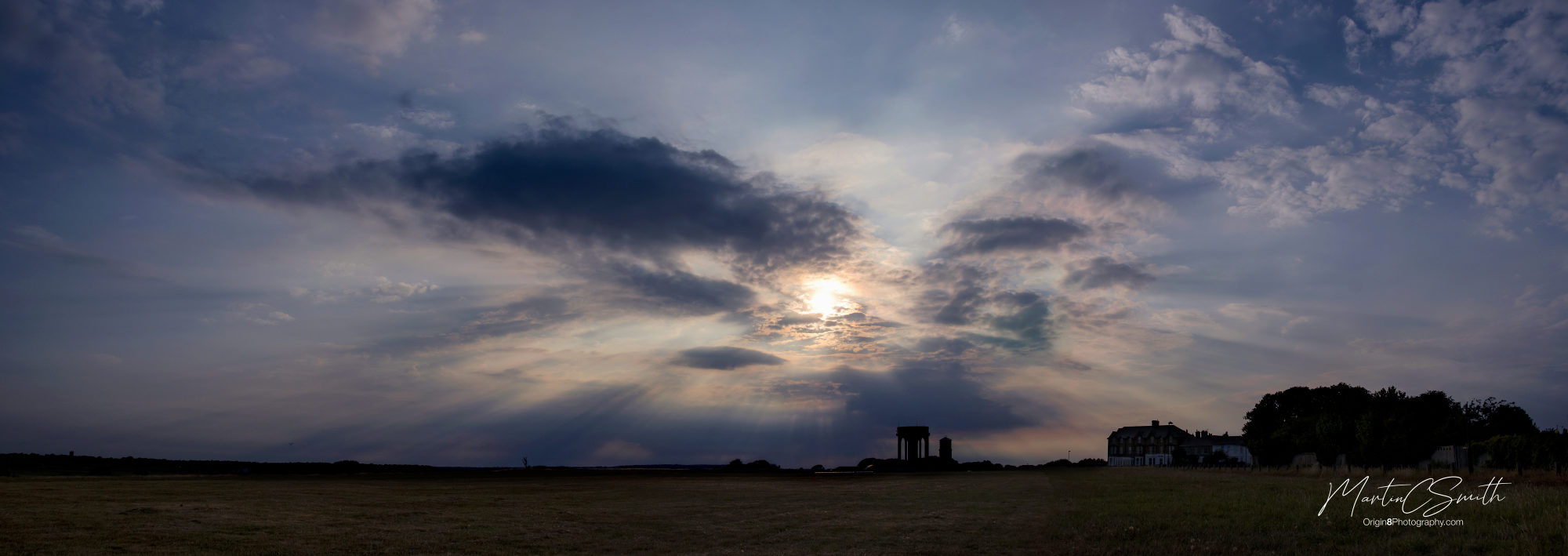 Southwold common sunset