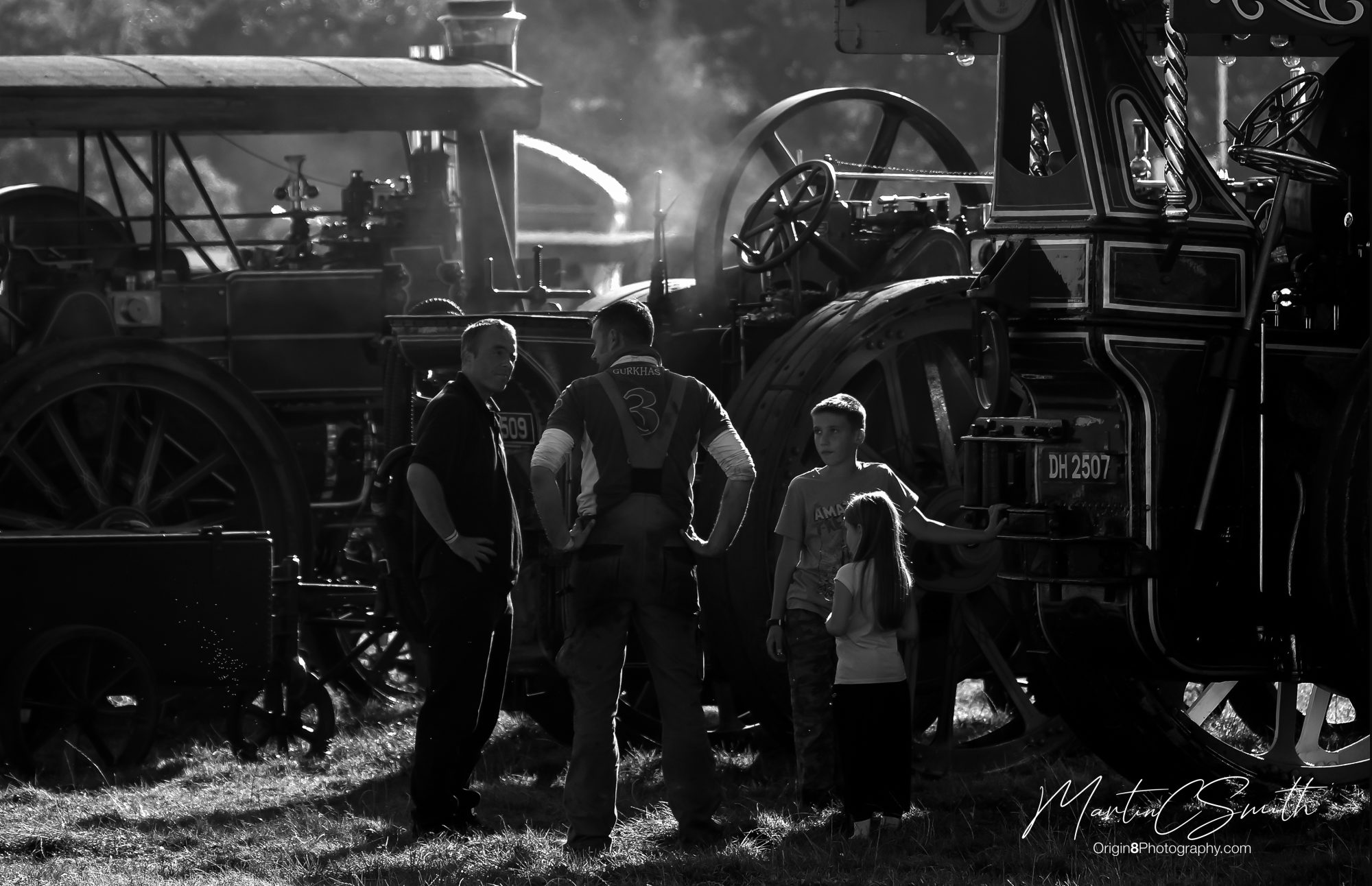 Steam Rally meeting