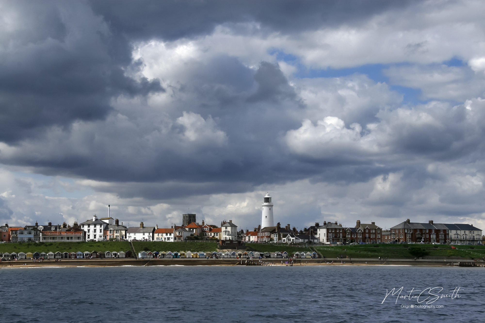Southwold from the sea